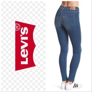 LEVI'S 311 Shaping Skinny Medium Wash blue jeans